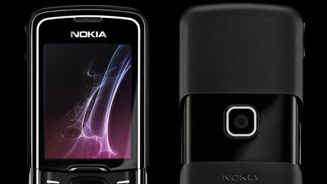 <b>LEKKER: </b> Nokia 8600 Luna er en designmessig lekkerbisken i eksklusive materialer.