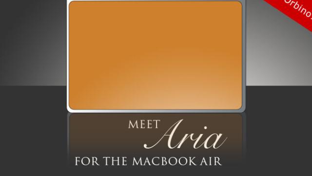 Det italienske designer-firmaet Orbino har allerede veska til den påståtte Macbook Air klar.
