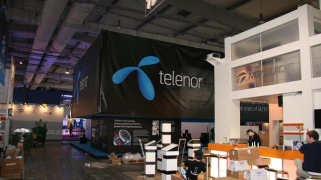 Telenor Sverige er også representert med GPS-dingser.