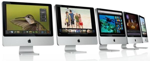 Apple lanserte nye iMacs idag.
