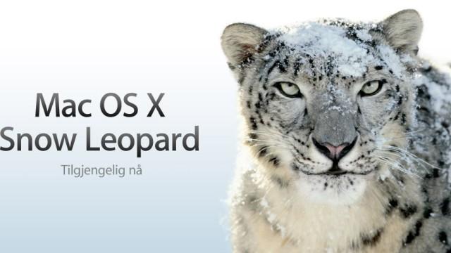 MacOS 10.6 selges med en gammel versjon av Adobe Flash som inneholder hull.