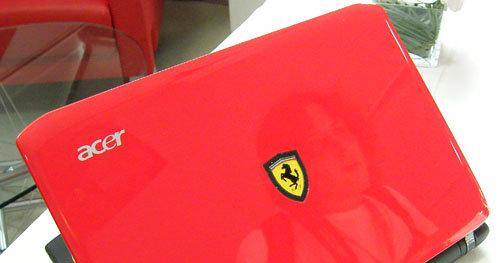 Acers Ferrari-laptop er velkjent for PC-snobben. Nå kommer netbook-utgaven.