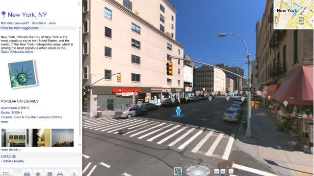 En tilfeldig gate i New York
