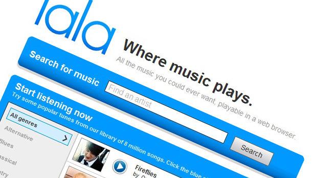 Den nettleserbaserte musikkstreamingtjenesten Lala er kjøpt av Apple for en billig penge skal vi tro to store nettaviser.