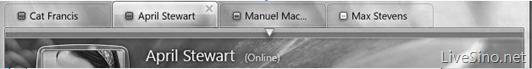 Får Messenger endelig faner? Det kan komme i neste oppdatering som etter planen skal lanseres i mars 2010.