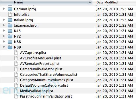 Dypt inne i iPad SDKen dukket disse kodenavnene opp.