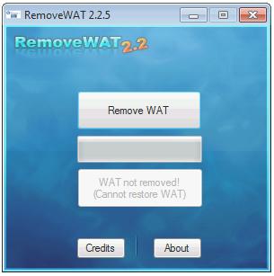 Et av verktøyene piratene bruker for å unngå piratsjekken i Windows 7.