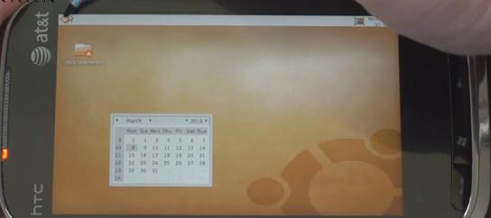 Lyst å bruke Ubuntu? Ikke noe problem på HTC Touch Pro 2.