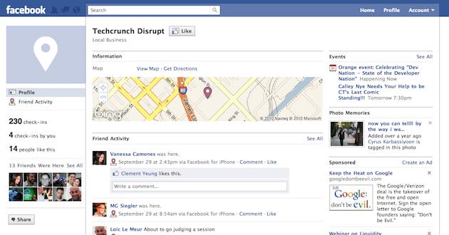 Profilsiden din blir mer lik Places, en tjeneste som enda ikke er lansert i Norge.