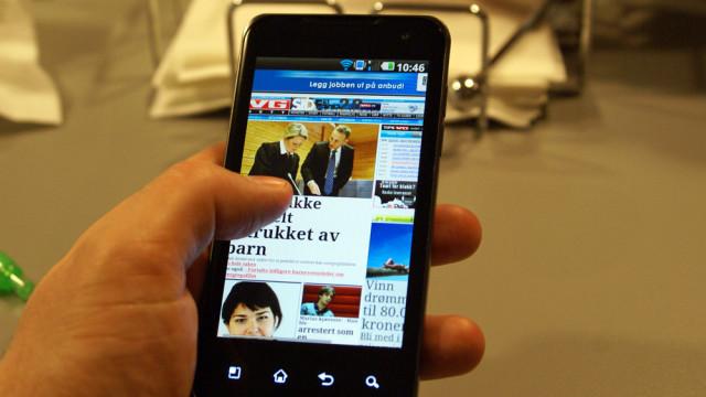 Telefonen tegner opp nettsider raskere enn noen andre vi har sett.