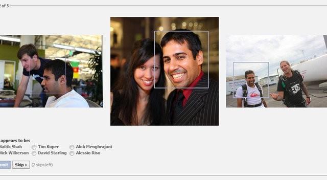 Facebook dropper heldigvis CAPTCHA.