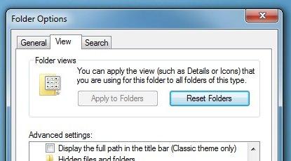 Huk så av «Launch Folder Windows in a Separate Process» under «View».