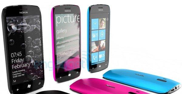 Dette er et offisielt konseptbilde fra Nokia og Windows Phone 7.
