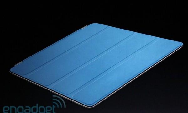 """Apples offisielle """"cover"""" til iPad 2 med magneter."""