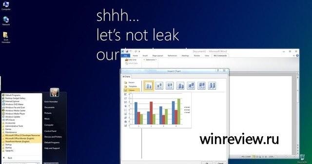 Windows 8 Aero. Legg merke til flatere minimerings- og lukke-ikoner.