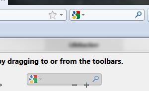 Det er mye plass å spare ved å fjerne Google-søkeboksen.