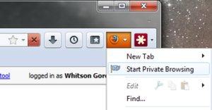 Flytt Firefox-knappen hit.