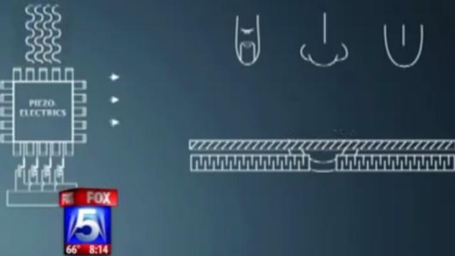 «Piezo electrics» som forklart av Fox News.