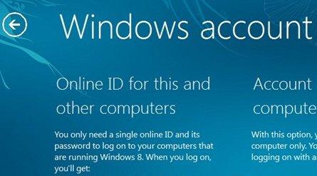Nå har det lekket et bildet fra en tidlig versjon av Windows 8 som lenker den lokale brukerprofilen i OS mot en Online ID.