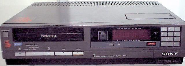 Betamax måtte gi tapt for VHS.