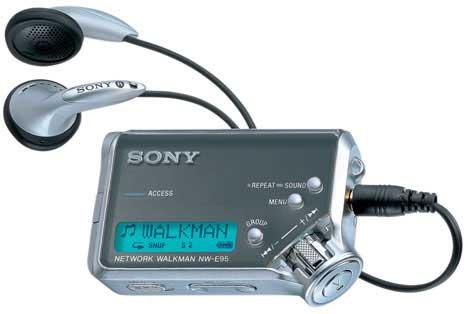 Sonys bærbare spillere var helt OK. Bortsett fra at de ikke støttet MP3 direkte.