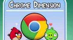 Google og Rovio byr på ekstra-innhold i Chrome-versjonen.
