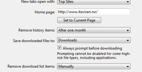 I Windows, en plattform Apple liker å kalle usikker, er ikke engang funksjonen integrert.