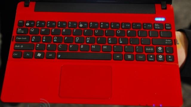 Tastaturet ser behagelig ut.