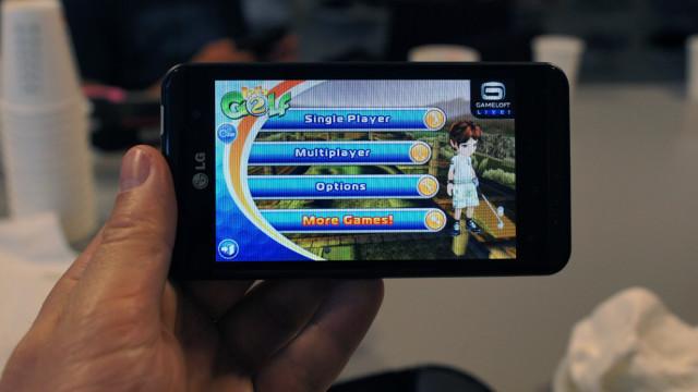 En håndfull spill leveres i 3D-versjoner.