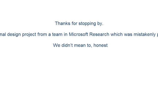 Vi skjønner Microsoft, det er virkelig ingenting å se her og socl.com er en helt uinteressant URL.