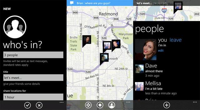 Microsoft mener enda ikke at innhold er noe man bør og behøver å satse på. WP 7-appen «We're here» er nemlig kun tilgjengelig for personer i USA og Israel og krever SMS-registrering.