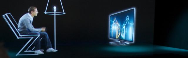 Toshibas demonstrasjon av brilleløs 3D var betydelig mer imponerende på storskjerm enn på TV.