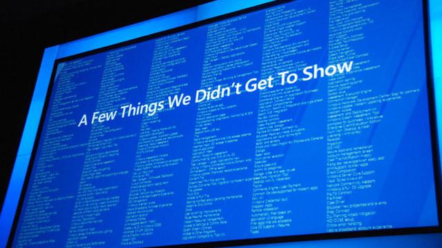 Microsoft har masse mer å vise frem.