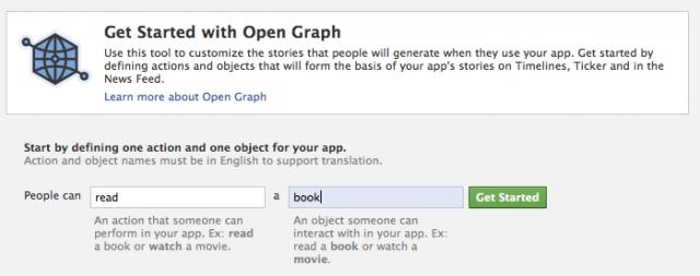 Det er det samme hva appen heter, den skal ikke publiseres for tilgang til Timeline.