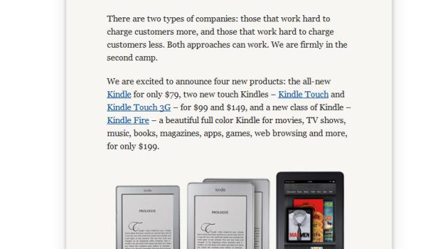 Amazon.com-forsiden i dag.