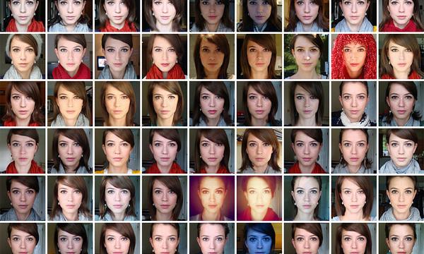 De mange portrettene...