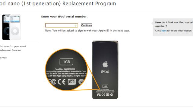 Apple ber norske kunder om ikke å bruke første generasjon iPod Nano grunnet overopphetingsfare.