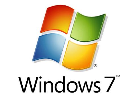 Dagens Windows-logo brukt i både Windows Vista og Windows 7.
