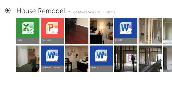 SkyDrive og Office i skjønn forening i Metro.