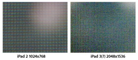 Slik ser panelet ut under et mikroskop.