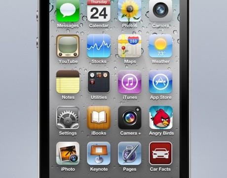 iPhone 5-konsept basert på de nye beregningene.