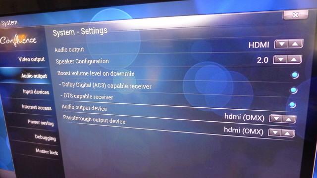 Med HDMI mot HDMI settes alt opp helt korrekt.