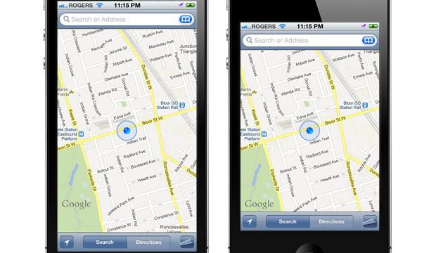 iPhone 5-konsept til venstre basert på den lekkede informasjonen fra 9to5mac.