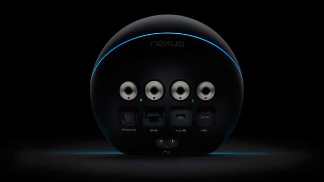 Nexus Q bakfra