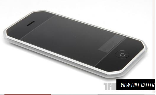 En iPhone 4-prototype.