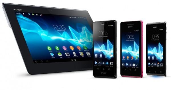 Tre nye telefoner og ett nettbrett var også blant Sonys nyheter i går.