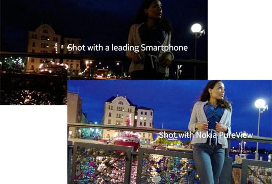 Vanskelig å skjønne hvorfor Nokia trolig har jukset igjen, PureView ser jo ut til å ta veldig mye bedre bilder under dårlige lysforhold enn sine konkurrenter.