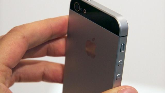 iPhone 5-designet.