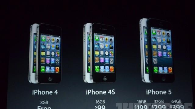 Prisene i Statene. iPhone 3GS forsvinner.