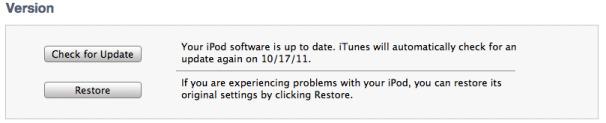 På en PC holder du inne shift-knappen, og trykker «Check for Update» i iTunes 10.7. Pek så til riktig .ispws-fil. Holder du inne samme knapp og trykker «Restore» slettes alt personlig innhold.